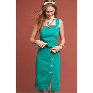 Elizabeth Button-Front Dress